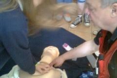 Ćwiczenia z pierwszej pomocy
