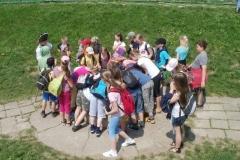 Klasa 4a i 4c w kotlinie Kłodzkiej