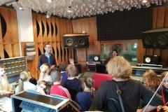 Klasa 4b z wizytą w Radio Poznań