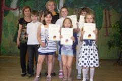 Laureaci Międzyszkolnego Konkursu J.Niemieckiego