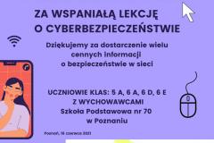 Lekcja o cyberbezpieczeństwie