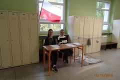 Lekcja wychowania obywatelskiego-wybory