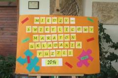 Międzyświetlicowy maraton układania puzzli 2014