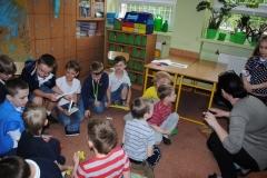 Odwiedziny zaprzyjaznionych przedszkolaków