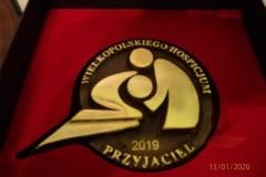 Otrzymaliśmy medal Przyjaciela Hospicjum Paliatyw