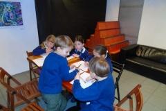 Przecinek i kropka - warszaty w klasie 1d