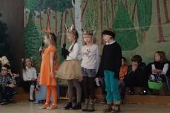 Przedstawienei teatralne klas 2b i 2c