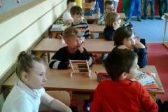 Przedszkolaki w odzwiedzinach w naszej szkole