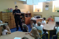 Spotkanie z policją - klasy pierwsze