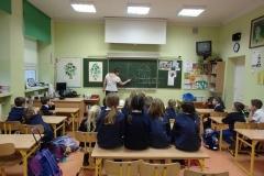 Warsztaty w klasie 1b