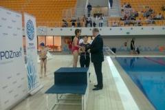 Zawody pływackie uczniów klas II-III