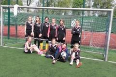 Zwycięstwo w Turnieju piłki nożnej dziewczyn